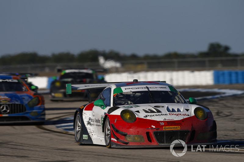 #58 Wright Motorsports Porsche 911 GT3 R, GTD: Patrick Long, Christina Nielsen, Robert Renauer, Mathieu Jaminet
