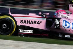 Annonce partenariat avec RAVENOL - Esteban Ocon, Sahara Force India F1 Team