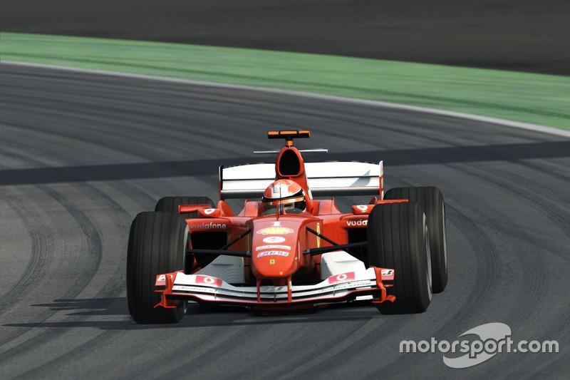 Assetto Corsa Ferrari F2004, Monza