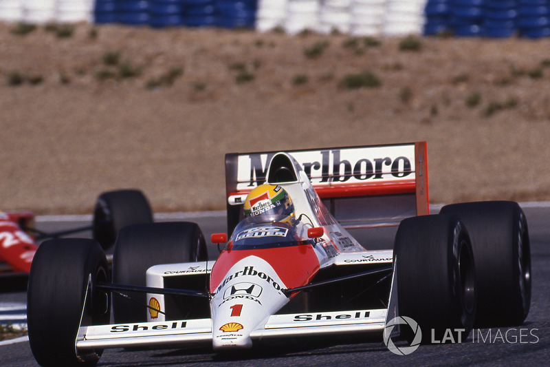 1989 İspanya: McLaren MP4/5