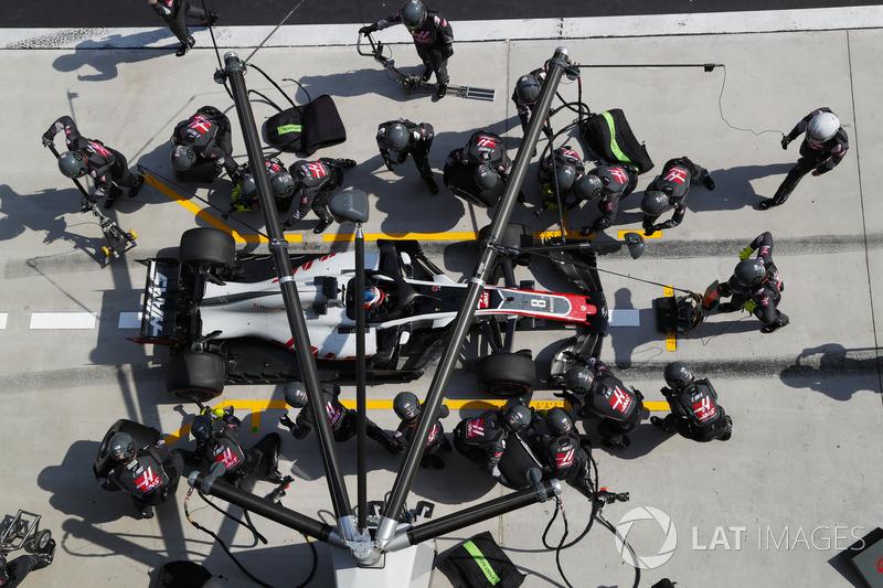 17e : Romain Grosjean (Haas F1)