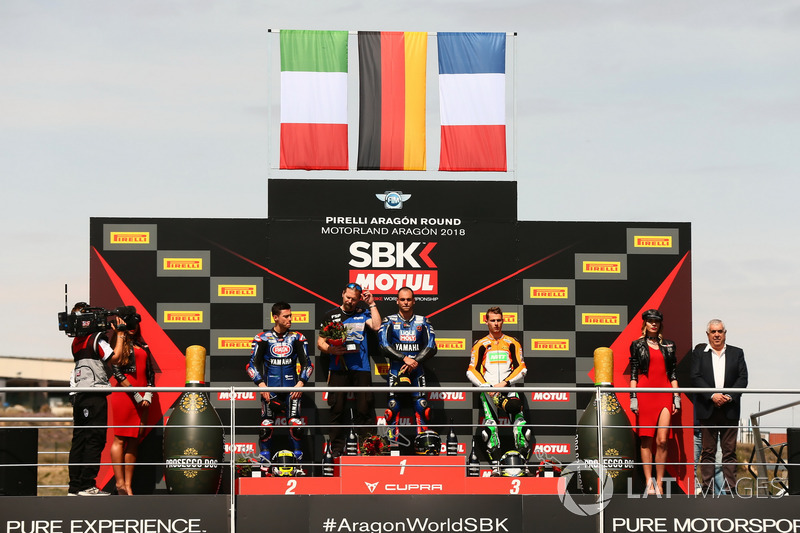 Podium: Federico Caricasulo, GRT Yamaha Official WorldSSP Team