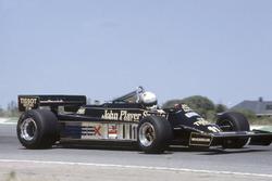 Elio de Angelis, Lotus 87-Ford Cosworth