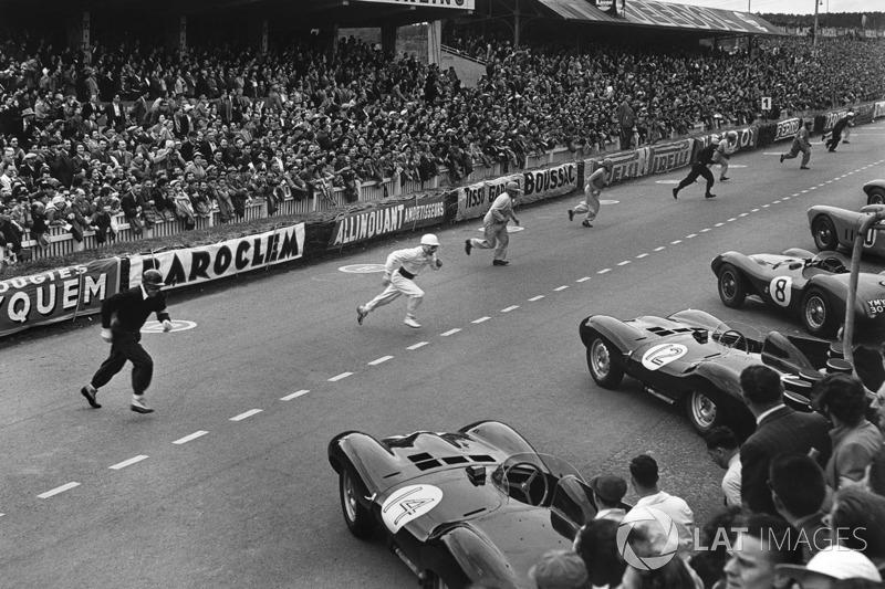 1954 год. Старт гонки
