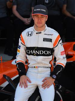Stoffel Vandoorne, McLaren at the McLaren Team photo