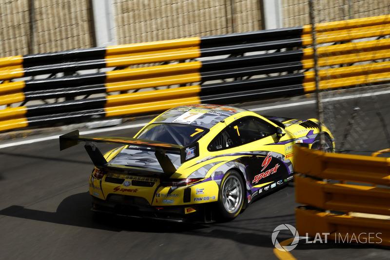 Ромен Дюма, HubAuto Racing, Porsche 911 GT3R