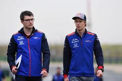 Ознакомление с трассой: Брендон Хартли, Scuderia Toro Rosso