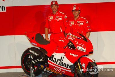 Présentation Ducati Desmosedici GP4
