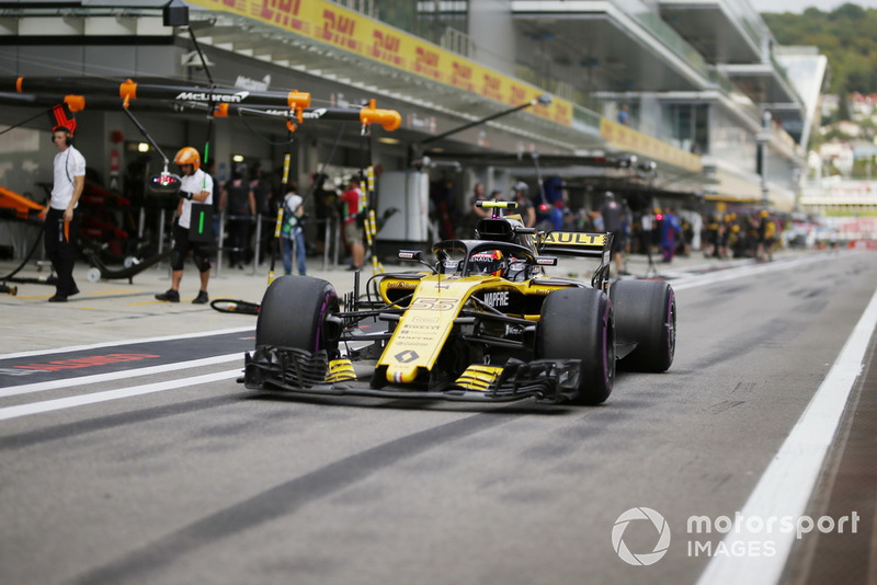 14 місце — Карлос Сайнс, Renault. Умовний бал — 6,18