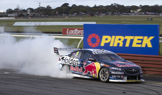 Race winners Jamie Whincup, Paul Dumbrell, Triple Eight Race Engineering