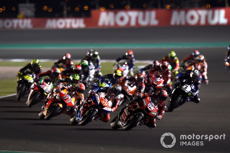Andrea Dovizioso, Ducati Team, 1st lap