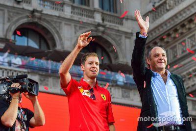 Festa Ferrari in Mailand