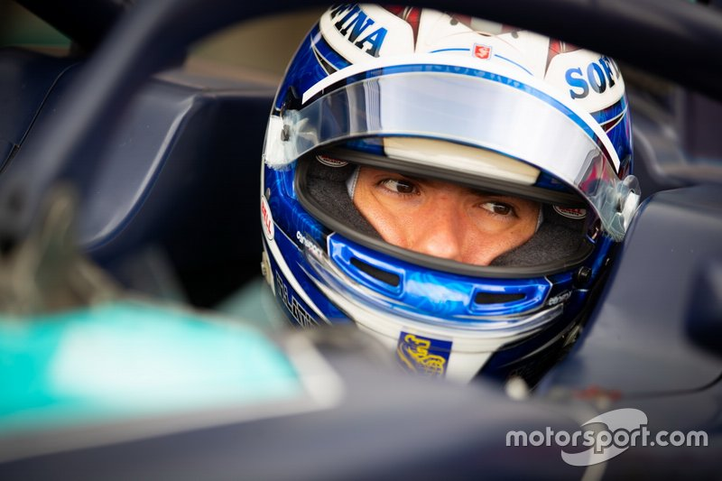 Could Nicholas Latifi, current Formula 2 ace, be part of the new team's plan?