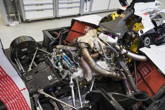 Detalle trasero del Porsche 919 Hybrid Evo