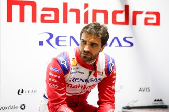 Jérome d'Ambrosio, Mahindra Racing in the garage