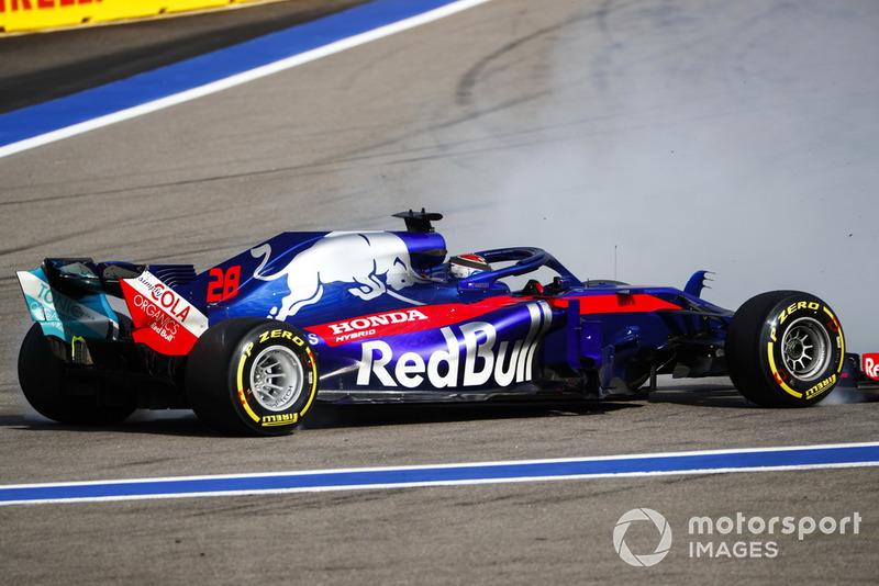 20 місце — Брендон Хартлі, Toro Rosso. Умовний бал — 3,04