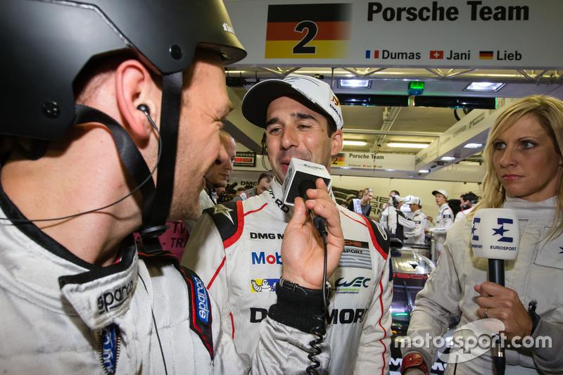 #2 Porsche Team Porsche 919 Hybrid: володар поул-позішн Ніл Яні дає інтерв'ю