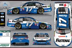 Sonderdesign: Ricky Stenhouse Jr., Roush-Fenway Racing, Ford