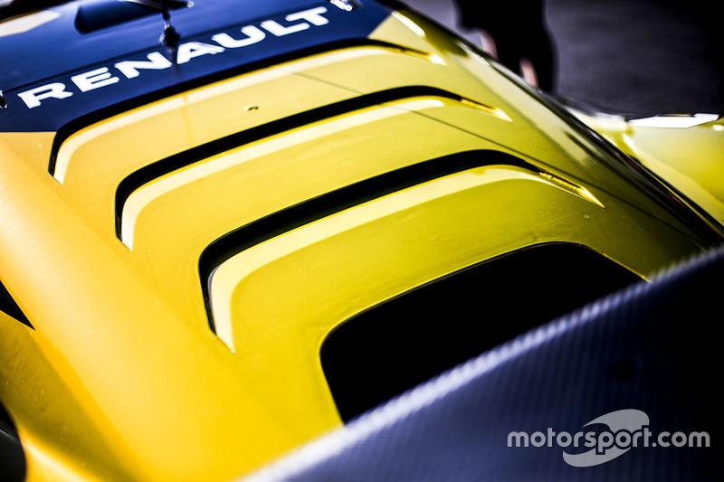 Renault RS01 detail