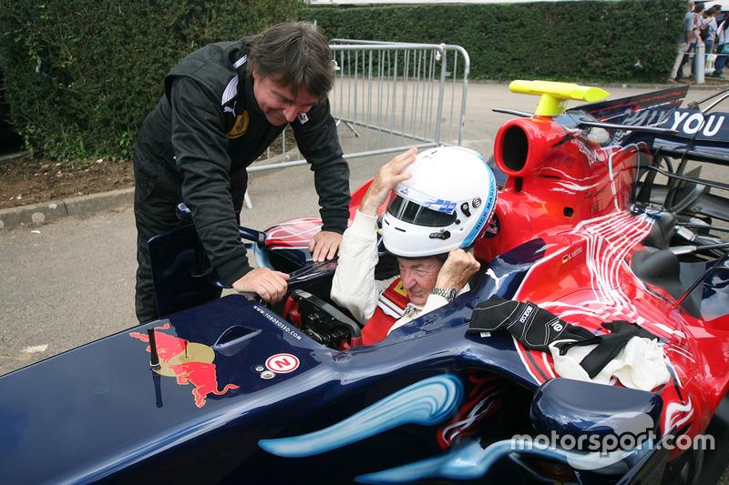 Rene Arnoux ve Nick Mason