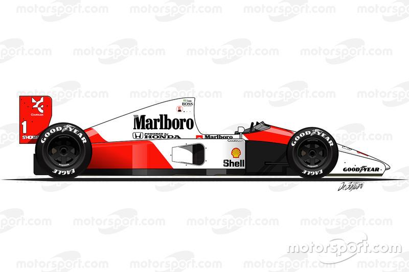 1991 - McLaren MP4-6