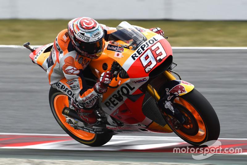 Katalonien, Barcelona: Marc Marquez (Honda)