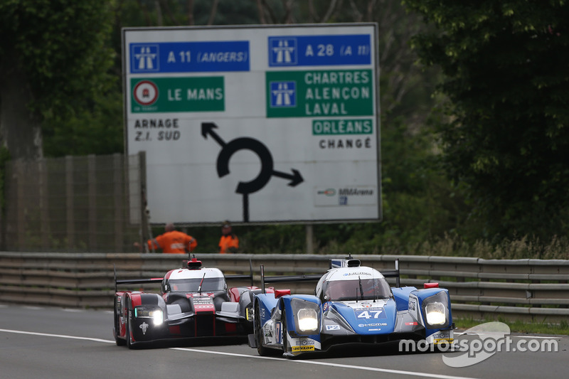 18: #47 KCMG Oreca 05 - Nissan: Tsugio Matsuda, Matt Howson, Richard Bradley