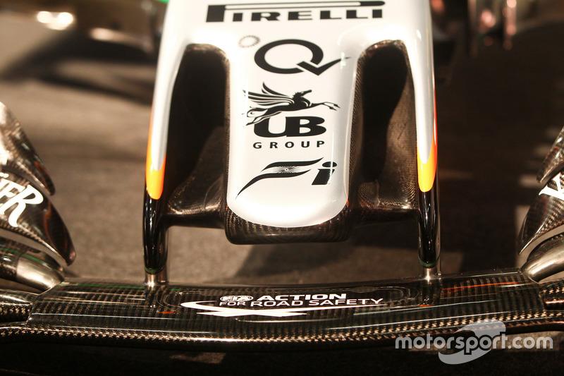 Le nez de la Sahara Force India VJM10