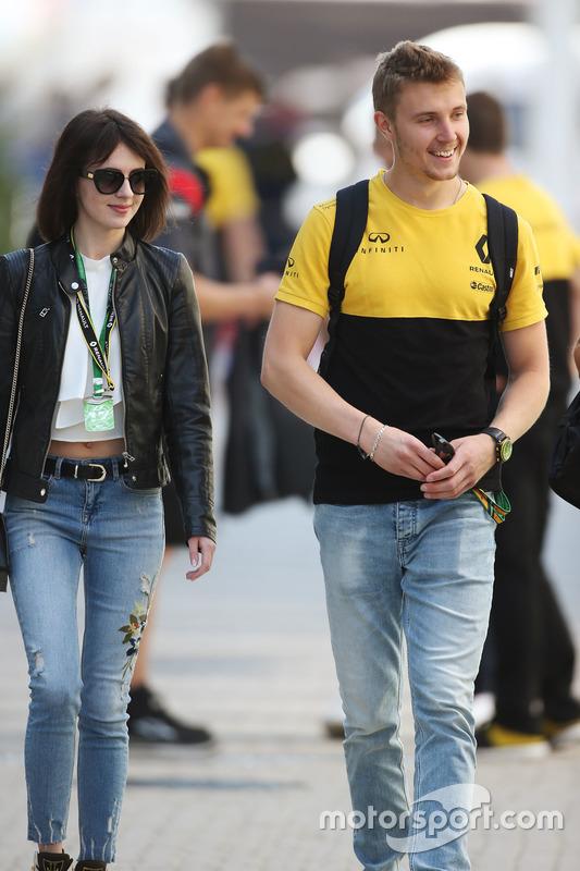 Sergey Sirortkin, test and development driver, Renault Sport F1 Team