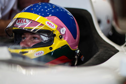 Jacques Villeneuve drives the F1 two-seater