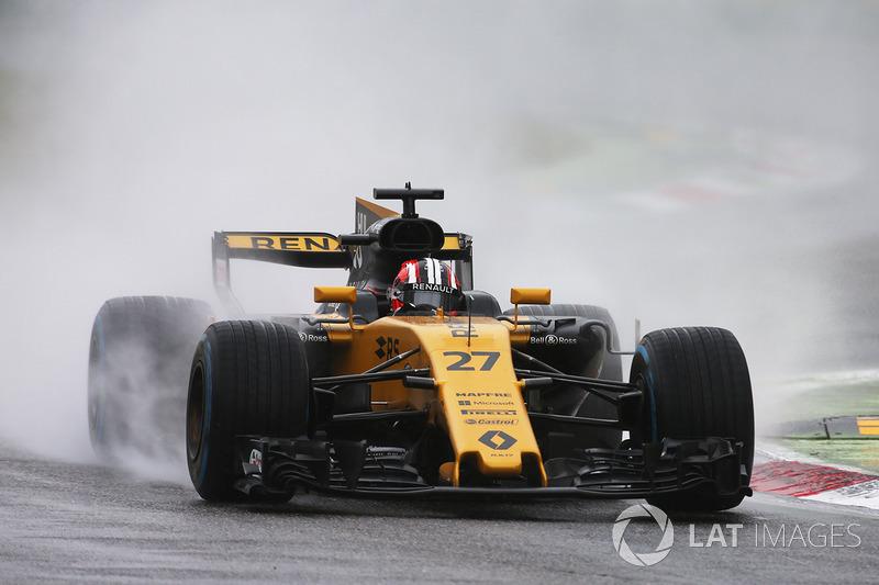 14: Nico Hulkenberg, Renault Sport RS17 (termasuk penalti 10 grid)