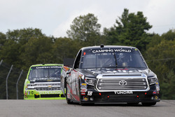 Noah Gragson, Kyle Busch Motorsports Toyota and Kaz Grala, GMS Racing Chevrolet