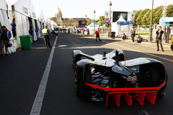 Roborace car in the pits