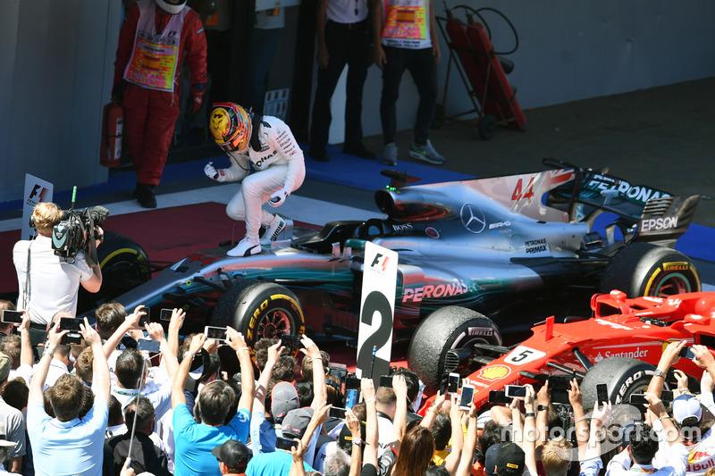 İspanya GP: Lewis Hamilton, Mercedes AMG F1 W08