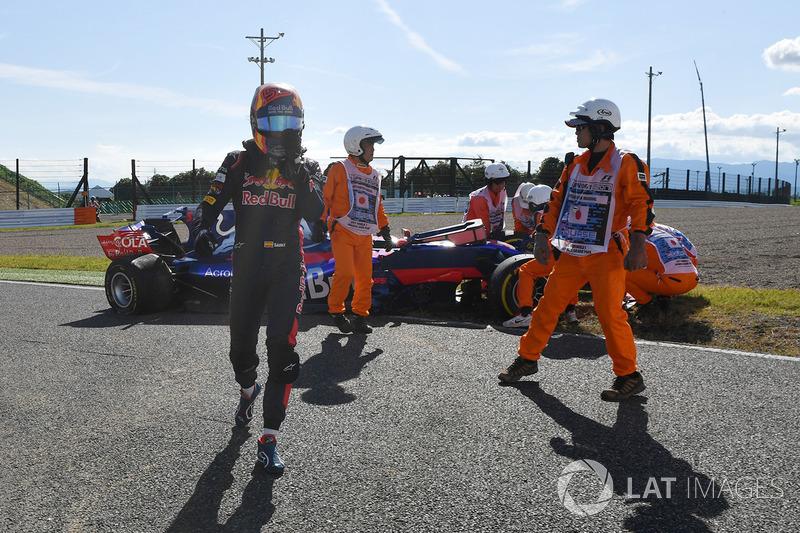 Retiro de la carrera de Carlos Sainz Jr., Scuderia Toro Rosso