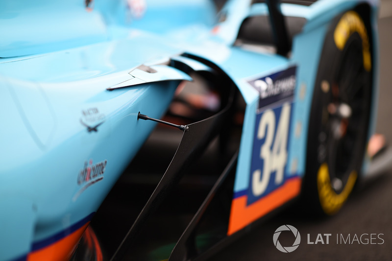 Detail: #34 Tockwith Motorsports, Ligier JS P217 Gibson: Nigel Moore, Philip Hanson, Karun Chandhok