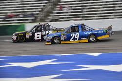 John Hunter Nemechek, SWM-NEMCO Motorsports Chevrolet, Chase Briscoe, Brad Keselowski Racing Ford