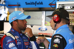 Darrell Wallace Jr., Richard Petty Motorsports Ford, Drew Blickensderfer