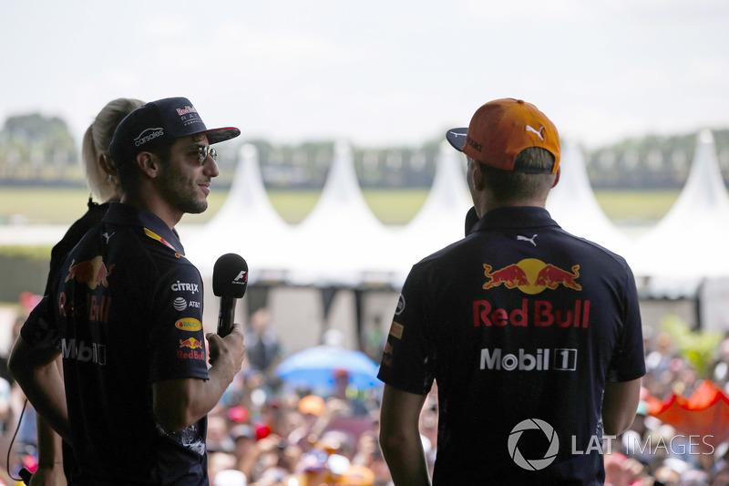 Даніель Ріккардо, Red Bull Racing, Макс Ферстаппен, Red Bull