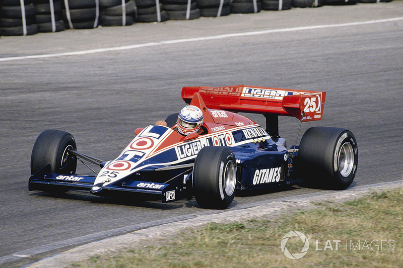Francois Hesnault, Ligier JS23 Renault