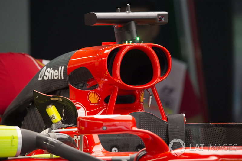 Ferrari airbox