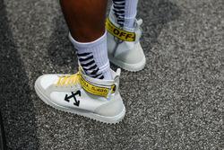 Schuhe von Lewis Hamilton, Mercedes AMG F1
