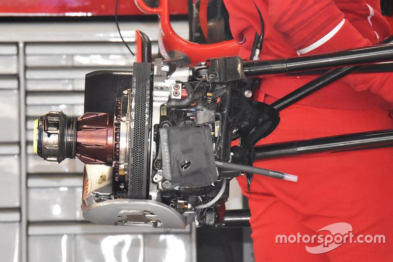 Передние тормоза Ferrari SF70H