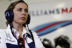 Claire Williams, Team Principal, Williams