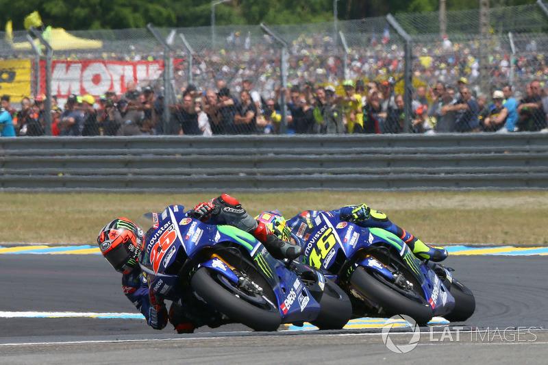 Le Mans 2017: Duelo de Yamaha y caída en la última vuelta