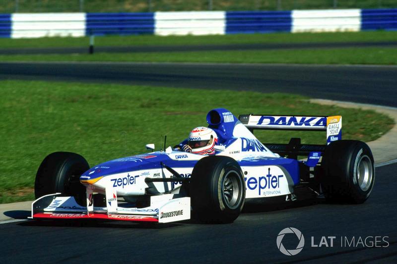 Martin Brundle prueba el Arrows F1 (1997)