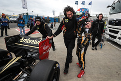 Pietro Fittipaldi, Lotus, auteur de la pole position