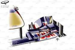 Toro Rosso STR6 front wing