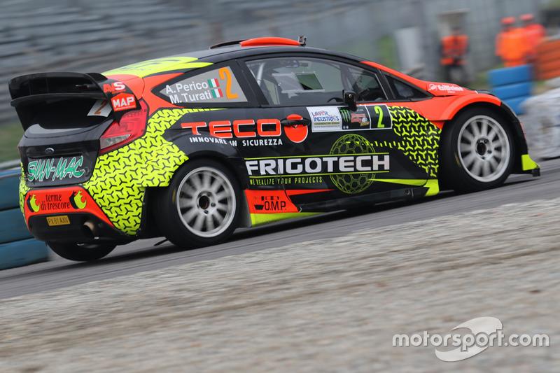 Alessandro Perico, Luca Succi, Ford Fiesta