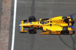 Fernando Alonso, Andretti Autosport Honda durante la vuelta de ritmo